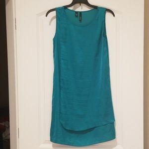 Mango turquoise women's dress. Size XXS